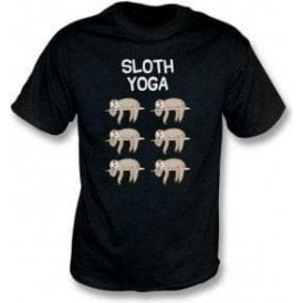Sloth Yoga Kids T-Shirt