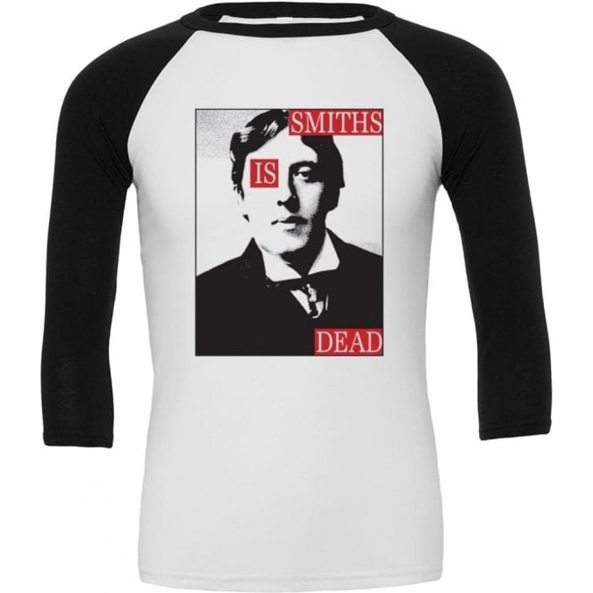 Smiths Is Dead (As Worn By Morrissey) 3/4 Sleeve Unisex Baseball Top