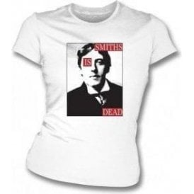 Smiths is Dead Womens (As Worn By Morrissey, The Smiths) Slim Fit T-Shirt