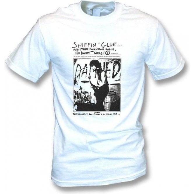 Sniffin Glue The Damned T-Shirt