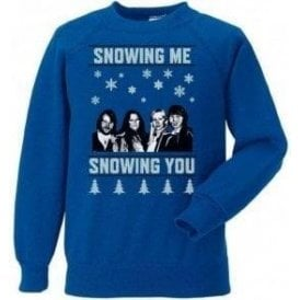 Snowing Me, Snowing You (ABBA) Christmas Jumper