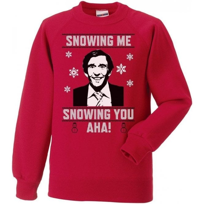 Snowing Me, Snowing You (Alan Partridge) Christmas Jumper