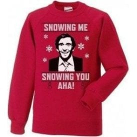 Snowing Me, Snowing You (Alan Partridge) Sweatshirt