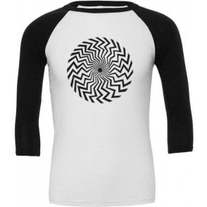 Spiral (As Worn By Keith Moon, The Who) 3/4 Sleeve Unisex Baseball Top
