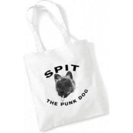 Spit The Punk Dog (As Worn By Philthy Animal, Motorhead) Long Handled Tote Bag