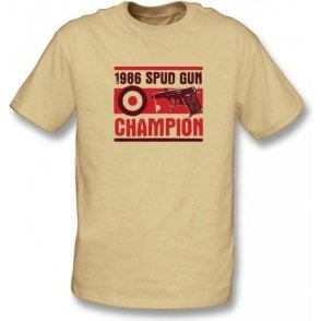 Spud Gun Champion t-shirt