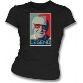 Stan Lee - Legend Womens Slim Fit T-Shirt