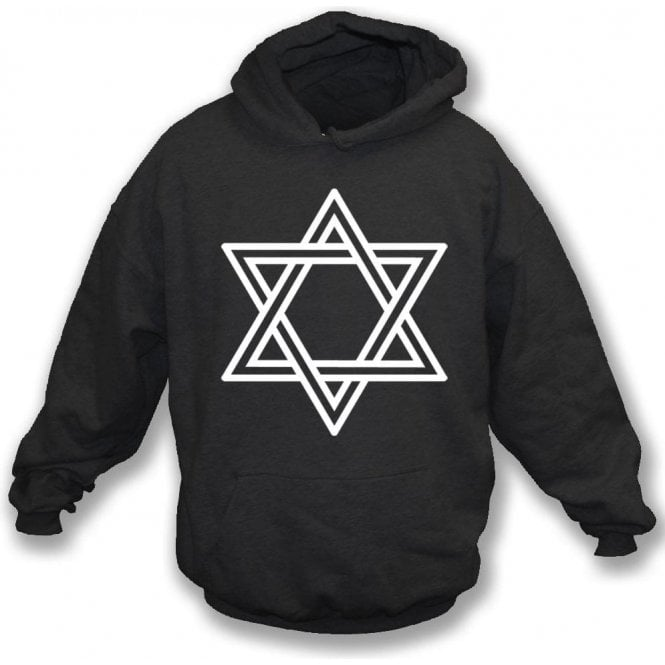 Star of David (As Worn By Siouxsie Sioux, Siouxsie and the Banshees) Hooded Sweatshirt