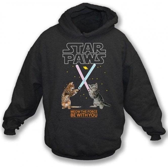Star Paws Hooded Sweatshirt