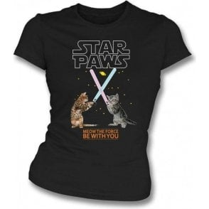 Star Paws Womens Slim Fit T-Shirt