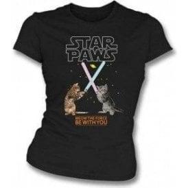 Star Paws Womens Slim Fit T-Shirt