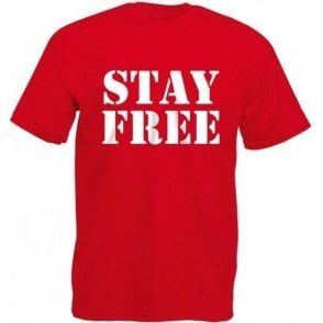 Stay Free (Inspired By The Clash) T-Shirt