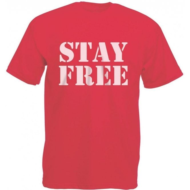 Stay Free (Inspired By The Clash) Vintage Wash T-Shirt