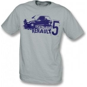 Staying alive in a Renault 5 T-shirt