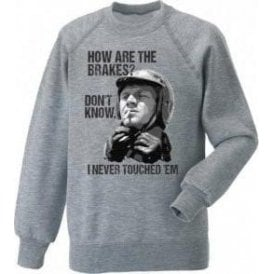 Steve McQueen - How Are The Brakes? Sweatshirt