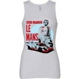 Steve McQueen Le Mans Women's Baby Rib Tank Top
