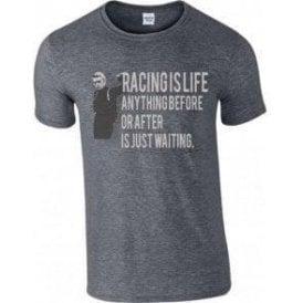 Steve McQueen - Racing Is Life T-Shirt