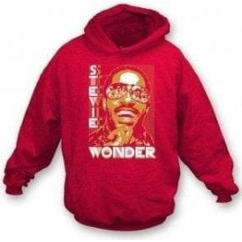 Stevie Wonder Photo Collage Hooded Sweatshirt