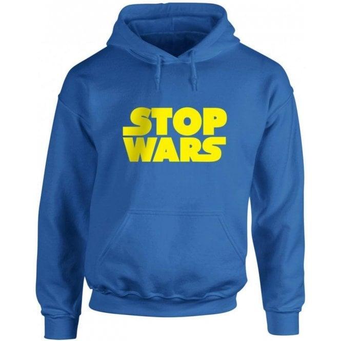 Stop Wars (As Worn By Natalie Portman) Kids Hooded Sweatshirt