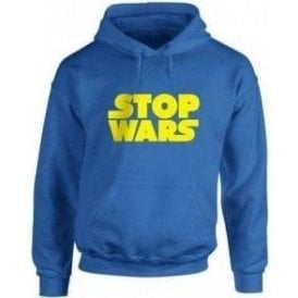 Stop Wars (As Worn By Natalie Portman) Kids Hooded Sweatshirt