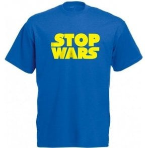 Stop Wars (As Worn By Natalie Portman) Kids T-Shirt