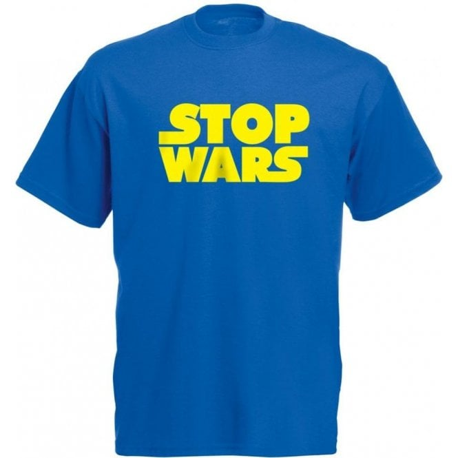 Stop Wars (As Worn By Natalie Portman) T-Shirt