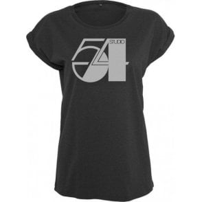 Studio 54 Womens Extended Shoulder T-Shirt