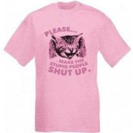 Stupid People Kitten T-Shirt