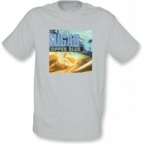 Sugar Copper Blue Album cover Vintage Wash T-shirt