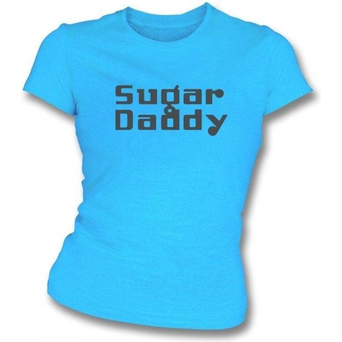 Sugar Daddy (As Worn By Dee Dee Ramone, Ramones) Womens Slim Fit T-Shirt