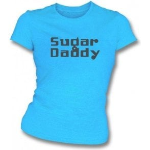 Sugar Daddy (As Worn By Dee Dee Ramone, Ramones) Womens Slim Fit T-Shirt