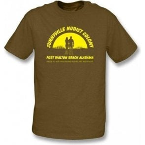 Sunnyville Nudist Colony T-shirt