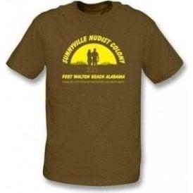 Sunnyville Nudist Colony T-shirt