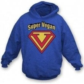 Super Vegan Kids Hooded Sweatshirt