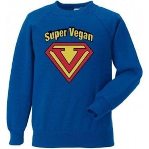 Super Vegan Kids Sweatshirt