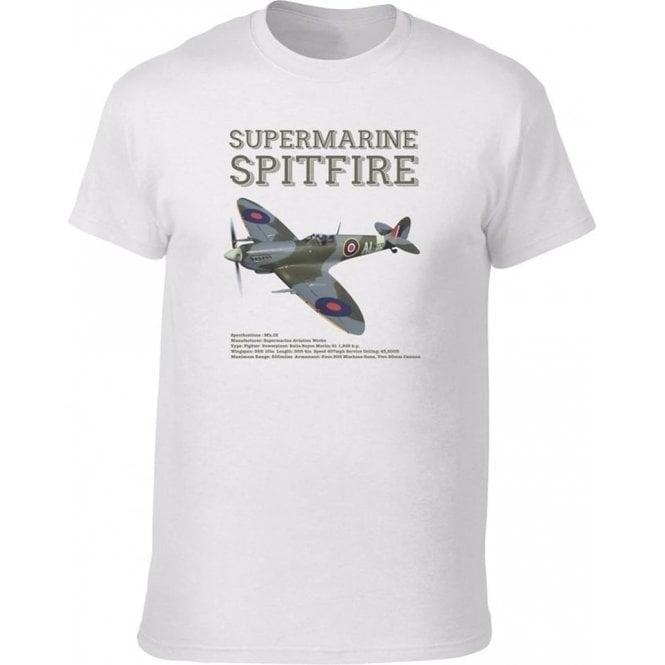 Supermarine Spitfire Vintage Wash T-Shirt