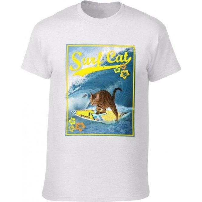 Surf Cat Kids T-Shirt