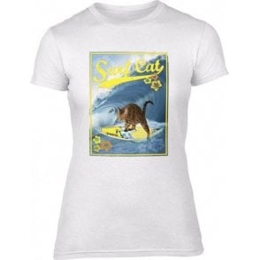 Surf Cat Womens Slim Fit