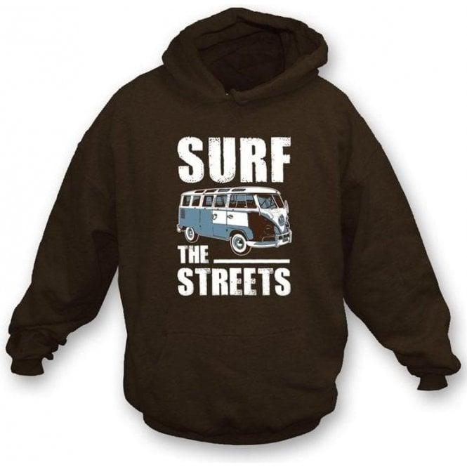 Surf The Streets VW Campervan Hooded Sweatshirt