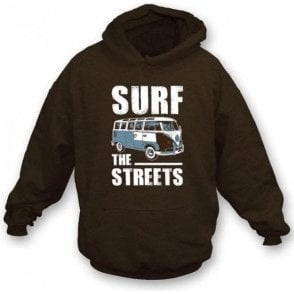 Surf The Streets VW Campervan Hooded Sweatshirt