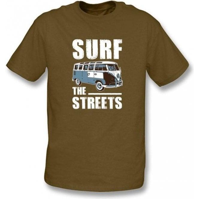 Surf The Streets VW Campervan T-shirt