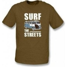 Surf The Streets VW Campervan T-shirt