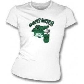 Swamp Water (As Worn By Joey Ramone, Ramones) Womens Slim Fit T-Shirt