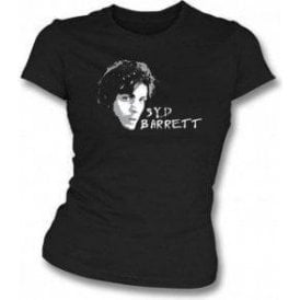 Syd Barrett Face Womens Slim Fit T-Shirt