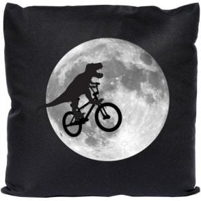 T-Rex E.T. (Inspired by E.T. The Extra Terrestrial) Cushion