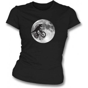 T-Rex E.T. Womens Slim Fit T-Shirt