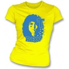 T. Rex Original '70s Logo Women's Slim Fit T-shirt