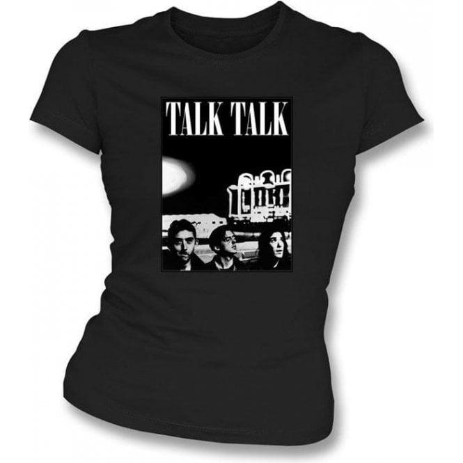 Talk Talk Band Photo Womens Slimfit T-shirt
