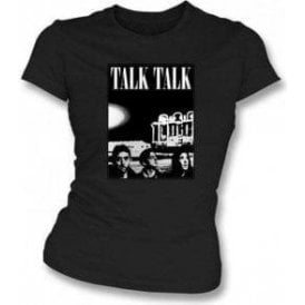 Talk Talk Band Photo Womens Slimfit T-shirt