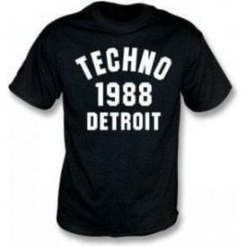 Techno 1988 Detroit T-Shirt